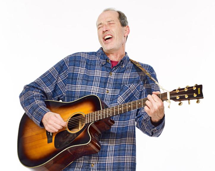 Bluegrass Guitar Player Wes Cohen
